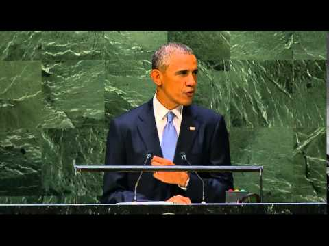 President Obama Addresses the United Nations General Assembly.