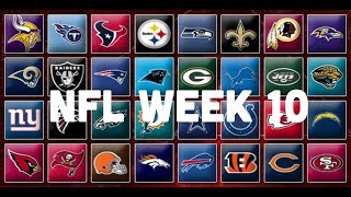 NFL Week 10 Picks & Predictions 2018 | 2019