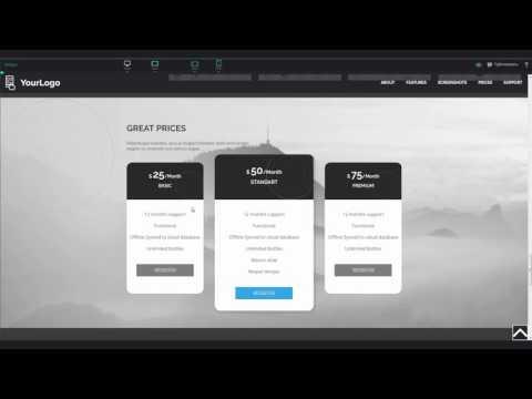 Как самому сделать сайт в редакторе сайтов PIXLI. Позиционирование фона.