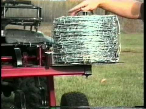 Barb Wire Dispenser Mpg Youtube