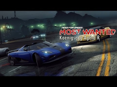 NFS Most Wanted - Koenigsegg Agera R - Прокачка машины