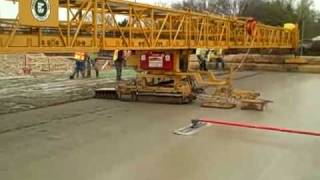 Paving bridge over Laclede Station Road