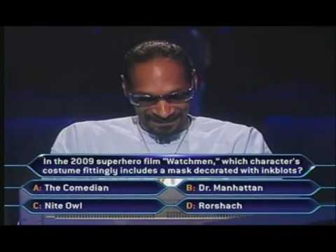 Snoop Dogg On Who Wants To Be A Millionaire Music Videos