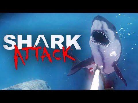 Shark Attack Deathmatch - SHARKS, GUNS AND SCUBA DIVING!
