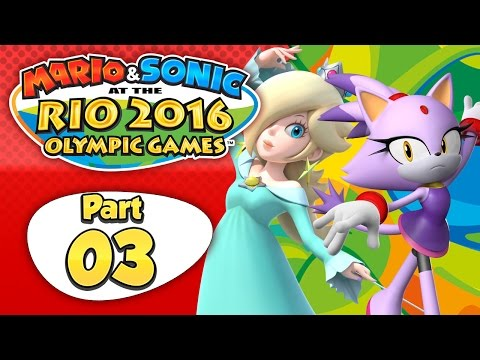 Mario & Sonic At The Rio 2016 Olympic Games - Part 3 | Day 3: Bad to Worse!