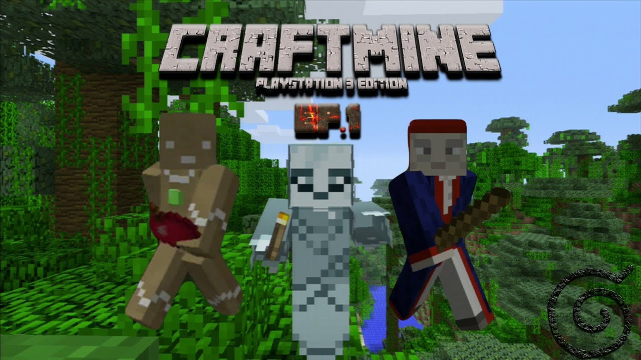 CraftMine Adventures Ep.1 ( Minecraft PS3 Edition ...