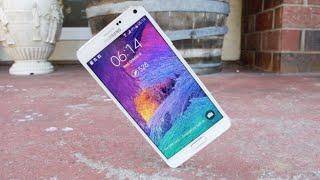 Samsung Galaxy Note 4 düşme testi