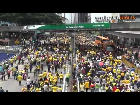 Bersih 3.0: From picnic to battlefield