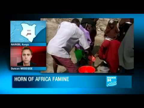 Food aid - UN to begin airlifting food aid to East Africa