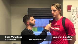 video The Chicago Bulls Cameron Bairstow gives starting5online.com an update on life during his rookie season. Although he hasn't played much, Bairstow is soaking up tips from veterans like Joakim...