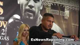robert garcia on rios vs chaves fight EsNews
