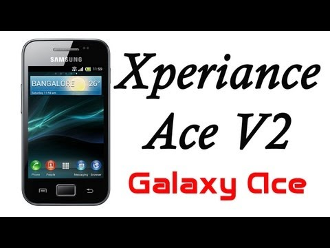 ROM Xperiance Ace V2 (XPERIA Z) para Galaxy Ace