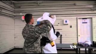 US Defense Secretary Rallies Troops Deploying to West Africa