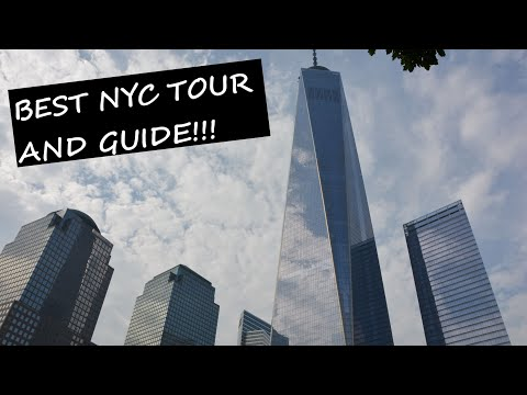 New York City Walking Tour by New York Tour1-Part 2: Downtown Manhattan