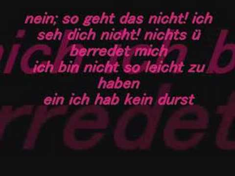 Sido - Nein! (Feat. Doreen)