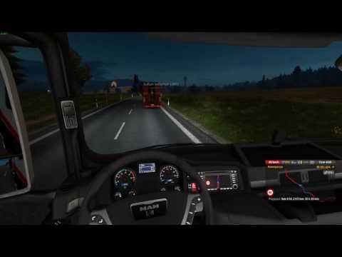 Euro Truck Simulator 2 Konwój Firmowy #6 2/4 W/PrezesGaming