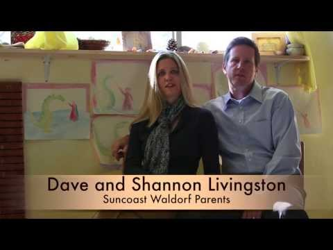 Suncoast Waldorf School, Parent Testimonial: The Livingstons