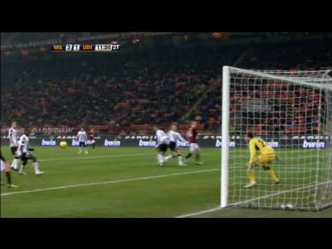 Milan-Udinese=3-2 (Serie A - 24a Giornata - Goals-Sintesi-Highlights) SKY HD