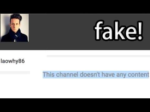 WARNING: Ignore Fake Account Posting As Me