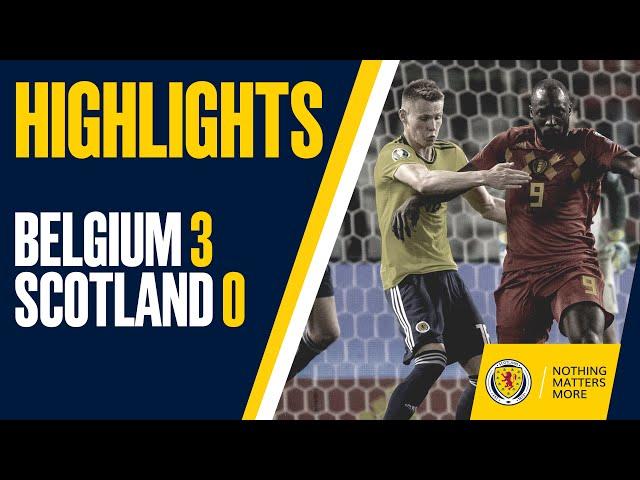 HIGHLIGHTS | Belgium 3-0 Scotland thumbnail