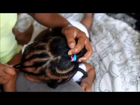 Baby Heart Shaped Braided Hairstyle (Beginner Friendly)