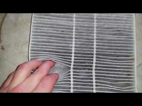 2015 Mitsubishi Lancer A/C Cabin Air Filter Element - Checking After 10.000 Miles