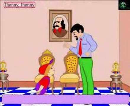 Nursery Rhymes- Johnny Johnny Yes Pappa- with Lyrics