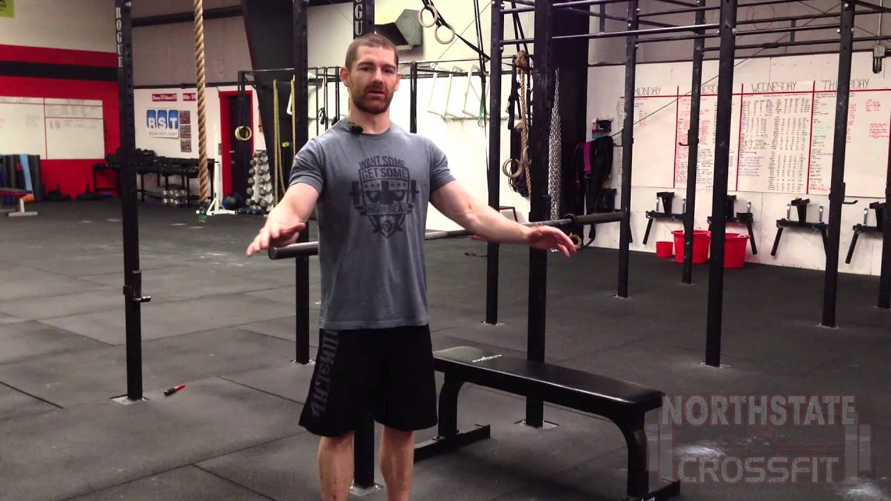 crossfit bench press northstate crossfit youtube