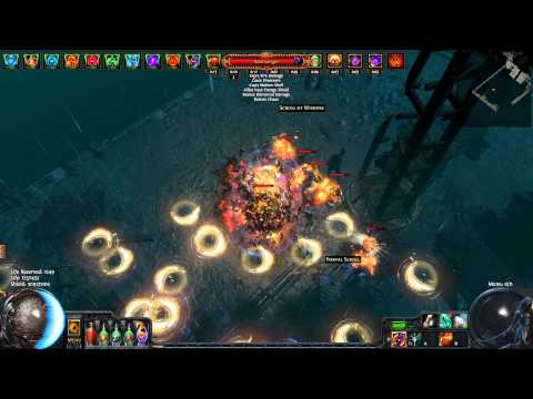 Path of Exile. 1.2.0 Forsaken Masters Phys/Ele Lowlife COE Spectral Throw. Gameplay 77 map