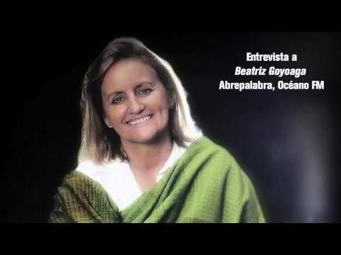 Beatriz Goyoaga en Abrepalabra, Océano FM1 Radio Uruguay