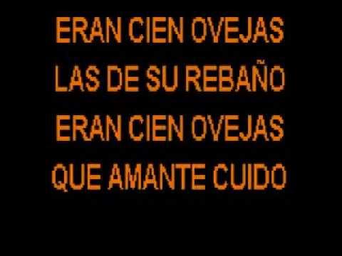 Eran Cien Ovejas - Manuel Bonilla - Karaoke video
