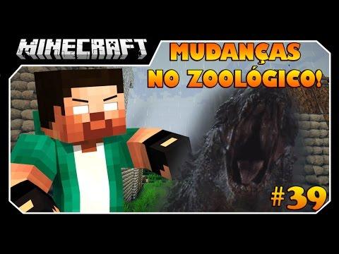 Minecraft A SÉRIE #39 MUDANÇAS INCRÍVEIS NO ZOOLÓGICO!!