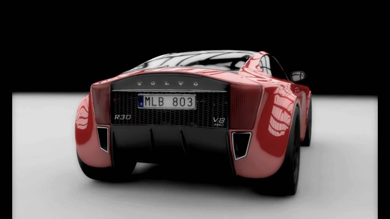 Volvo R30 V8 Awd Concept Youtube