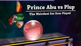 Plup vs Prince Abu - The Weirdest Set Ever Played