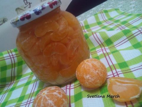 Консервированные мандарины