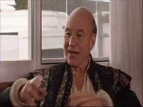 Patrick Stewart on Extras