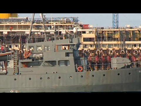 Costa Concordia making good progress on last voyage to Genoa