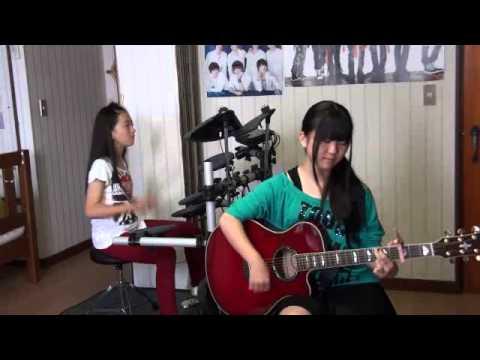 HELLO ~Paradise Kiss~/YUI(ギター&ドラムcover)★高1&小6
