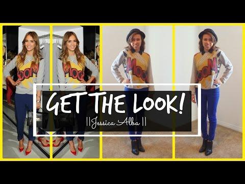 Get the Look: Jessica Alba!