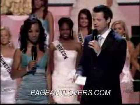 Miss Teen USA 2006 Special Awards Miss Congenality Blair Griffith,Colorado ...