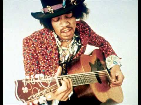 Jimi Hendrix Great Blues Improvisation