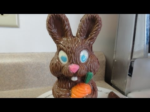 Candy Melting Wafer Demo : Easter bunny and egg