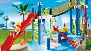 Piscine avec toboggan paris for Playmobil piscine toboggan