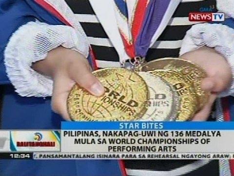 Pilipinas, nakapag-uwi ng 136 medalya mula sa World Championships of Performing Arts