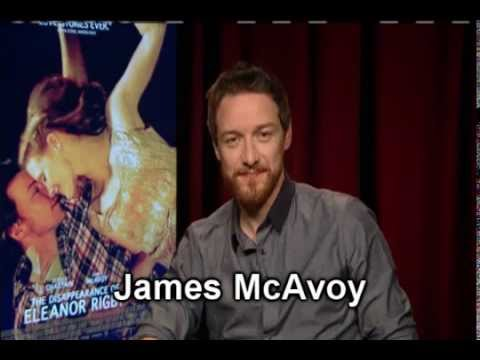 James McAvoy via satellite from London