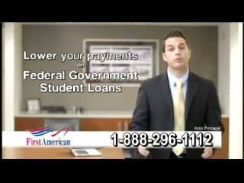 Consolidate Federal Government Student Loans by Federal Student Loan Repayment Programs
