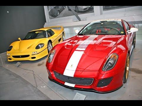 Incredible FERRARI car Collections !!!