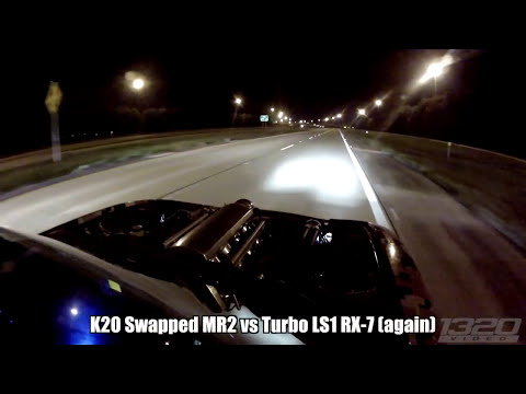 900hp Honda Powered MR2 - Dominates the Streets of Florida