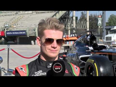 Nico Hülkenberg in Mexico