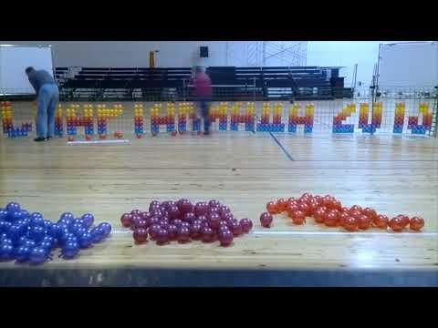 ПАННО из воздушных шаров  Panels made of balloons